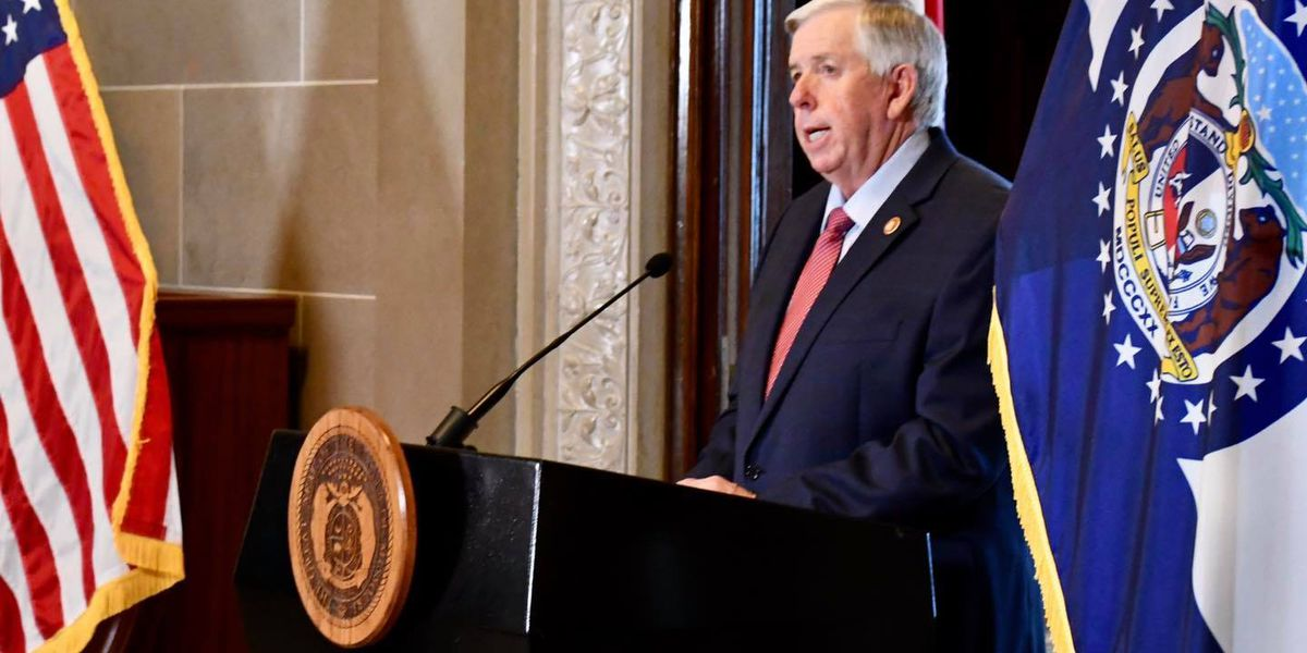Gov. Parson to hold COVID-19 briefing at 3 p.m.