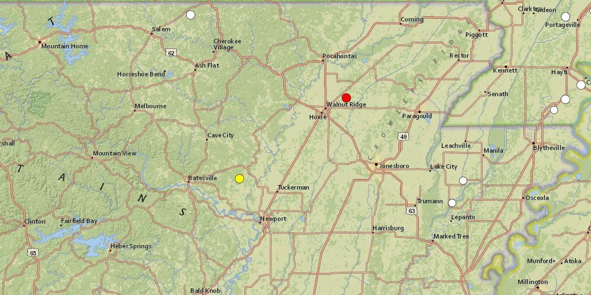 2.6 magnitude quake reported near O'Kean