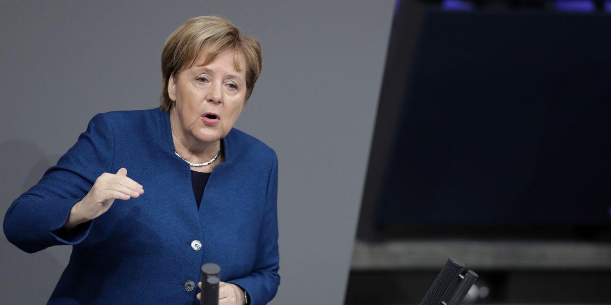 The Latest: Merkel concerns by Gibraltar impasse on Brexit