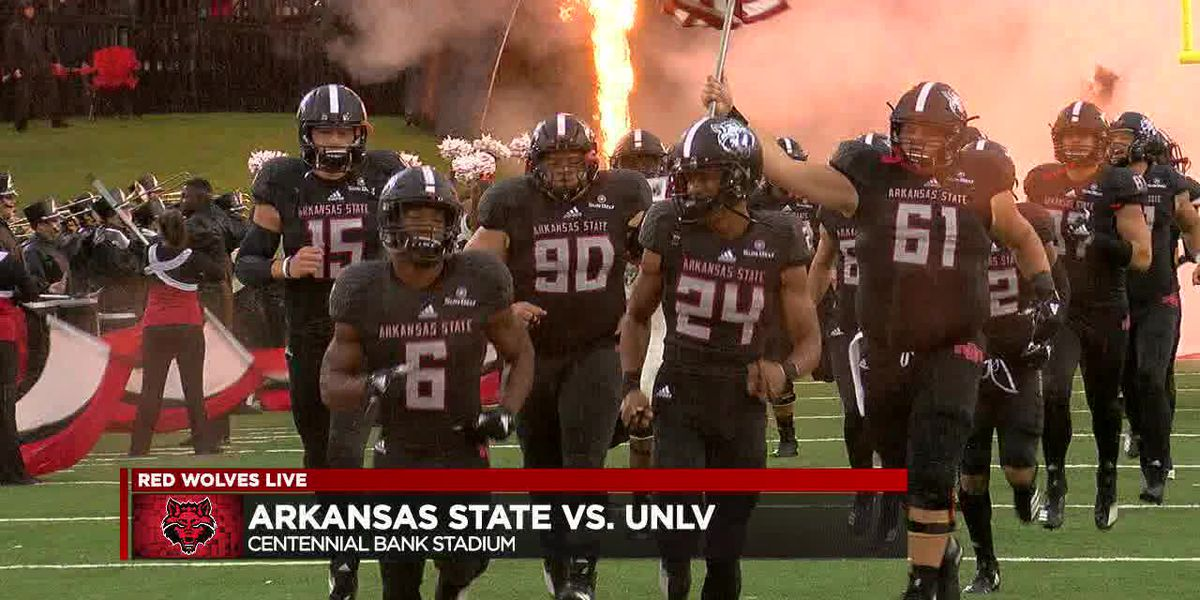 Arkansas State beats UNLV 27-20 to move to 3-1