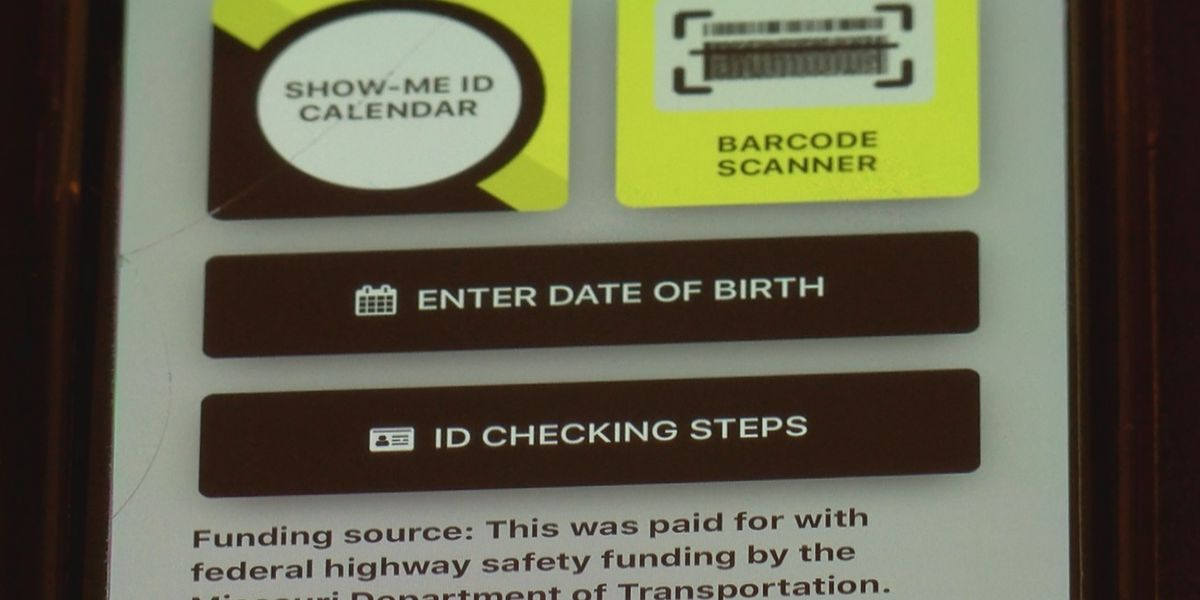 """Show-Me ID App"" detects fake IDs to crack down on underage drinking"
