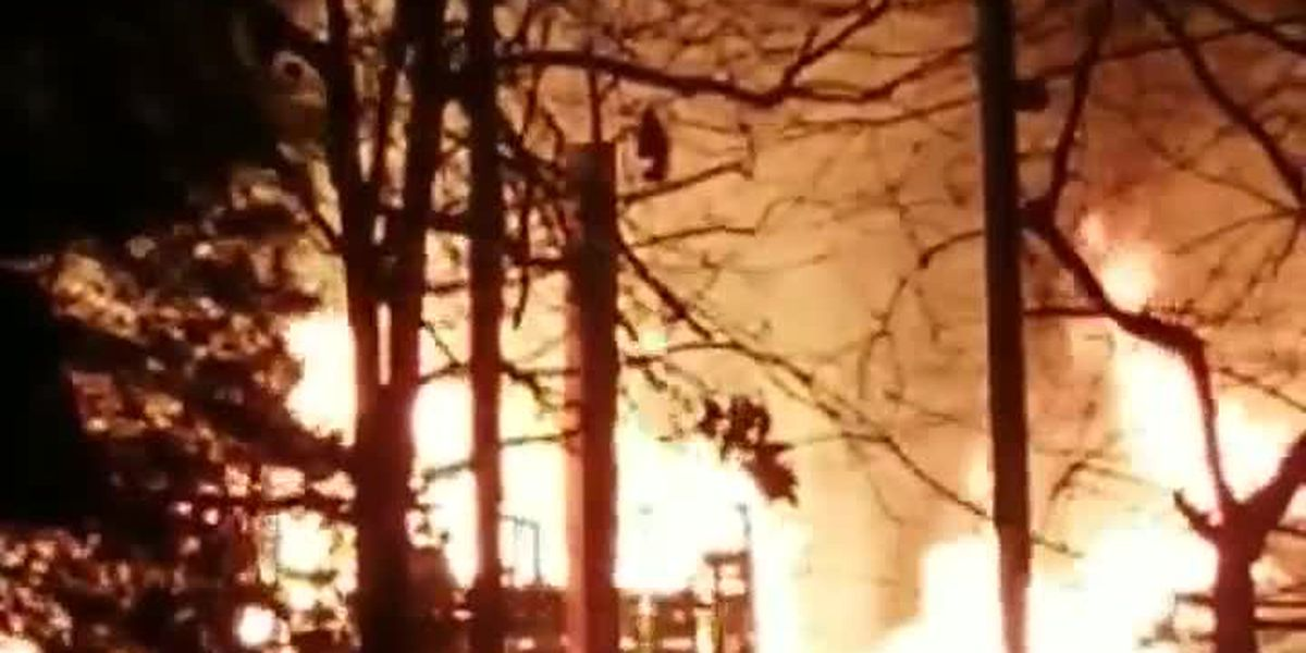 Crews battle early morning house fire in Marston, MO