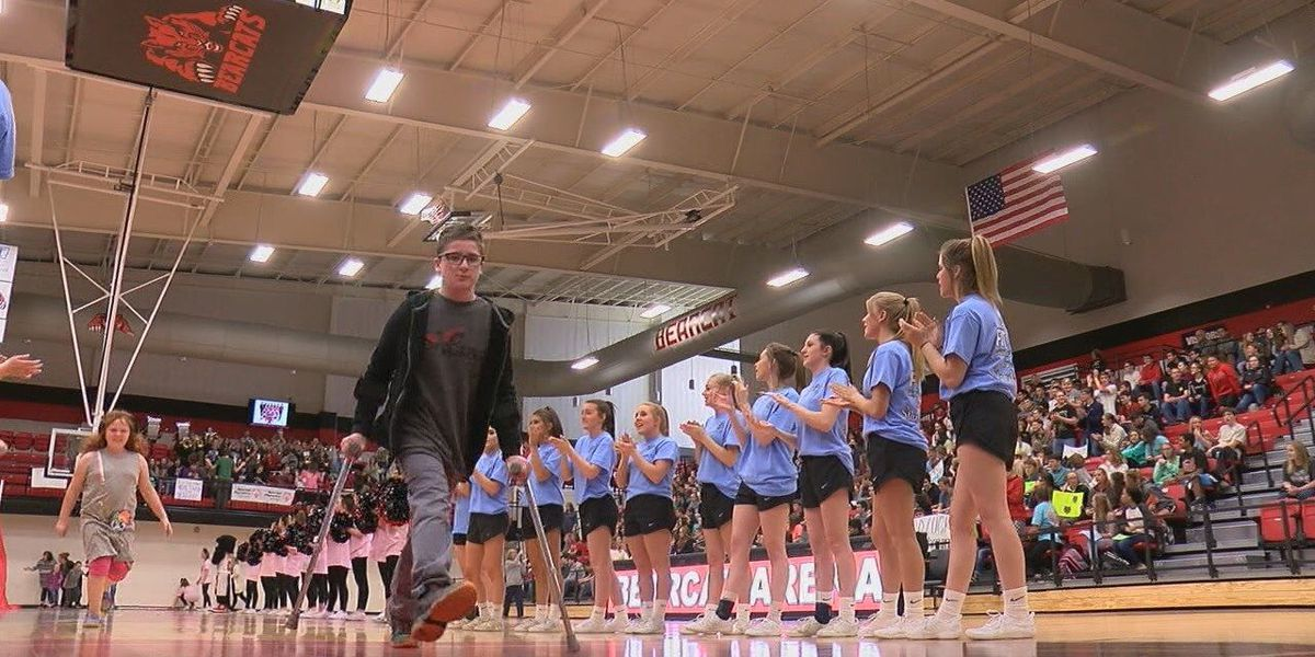 GR8Job: Pep rally held for Brookland Special Olympians