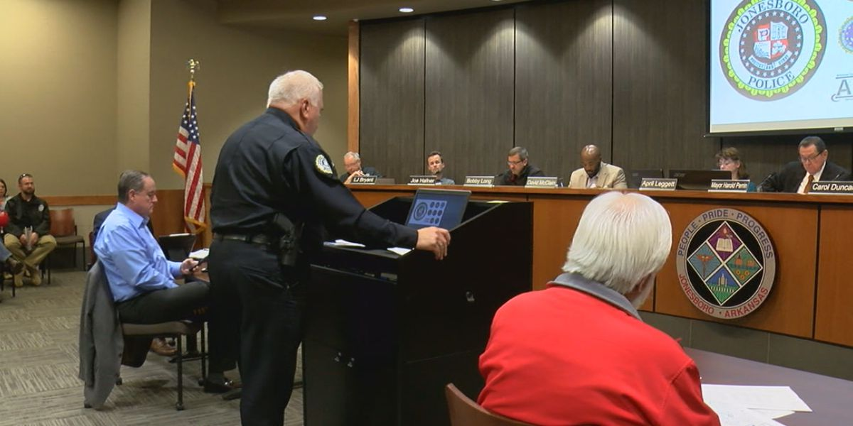 City reacts to Jonesboro Police Department's needs