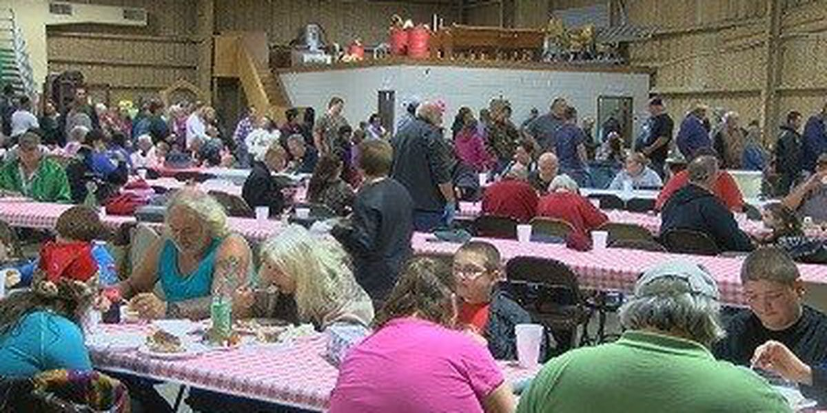 Group gives back during community Christmas dinner