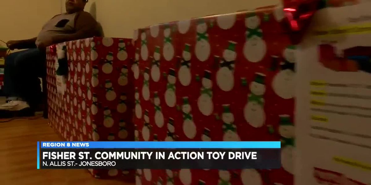 Fisher St. Community in Action Toy Drive