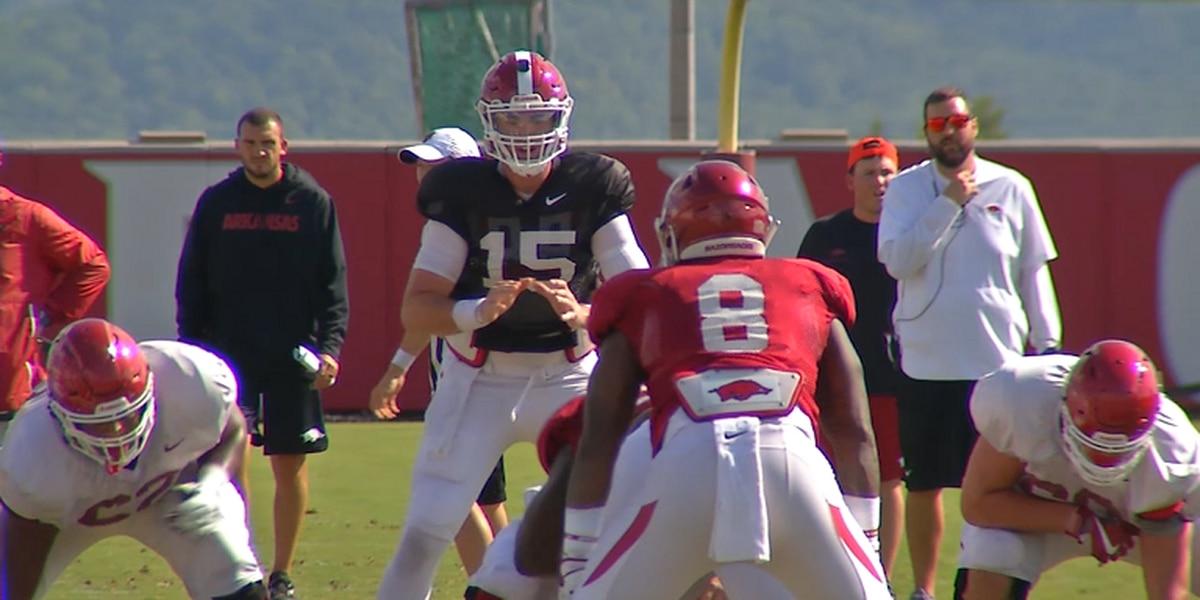 Arkansas QB Cole Kelley to transfer