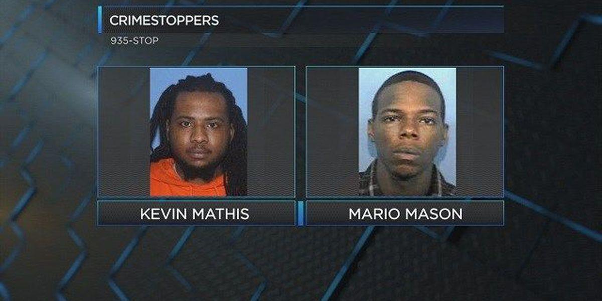 Two men, over 20 warrants