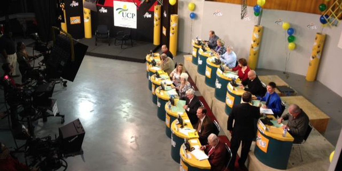The UCP Telethon held today, phone pledges total calculated