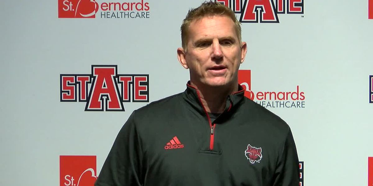 Red Wolves Raw: Blake Anderson weekly press conference (09/16- Southern Illinois)
