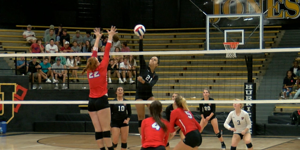 Jonesboro volleyball sweeps Paragould in conference clash