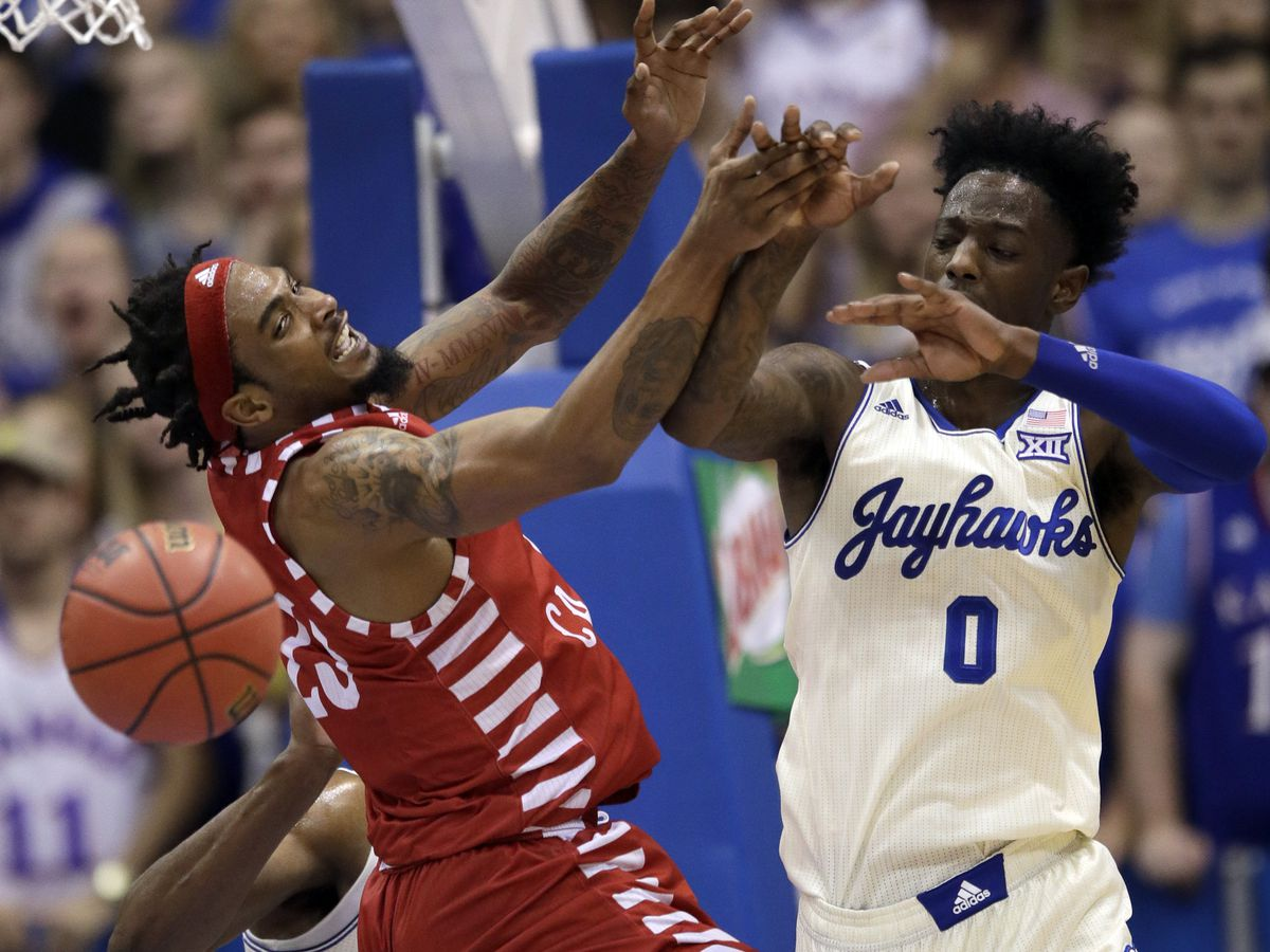 Vick again leads No. 2 Kansas in 89-76 win over La-Lafayette