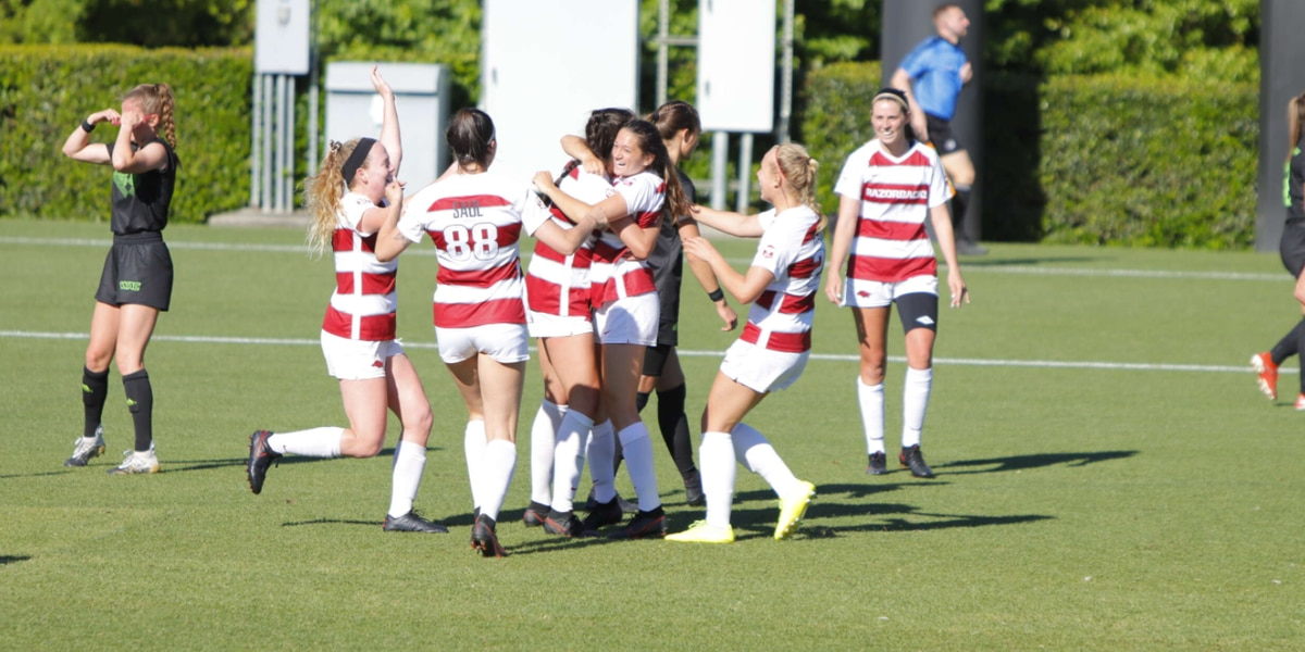 Arkansas soccer beats Utah Valley to advance in NCAA Tournament