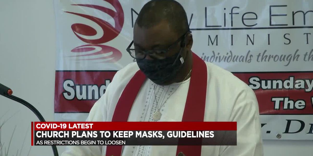 Church says they will continue to follow guidelines even when mask mandate is lifted