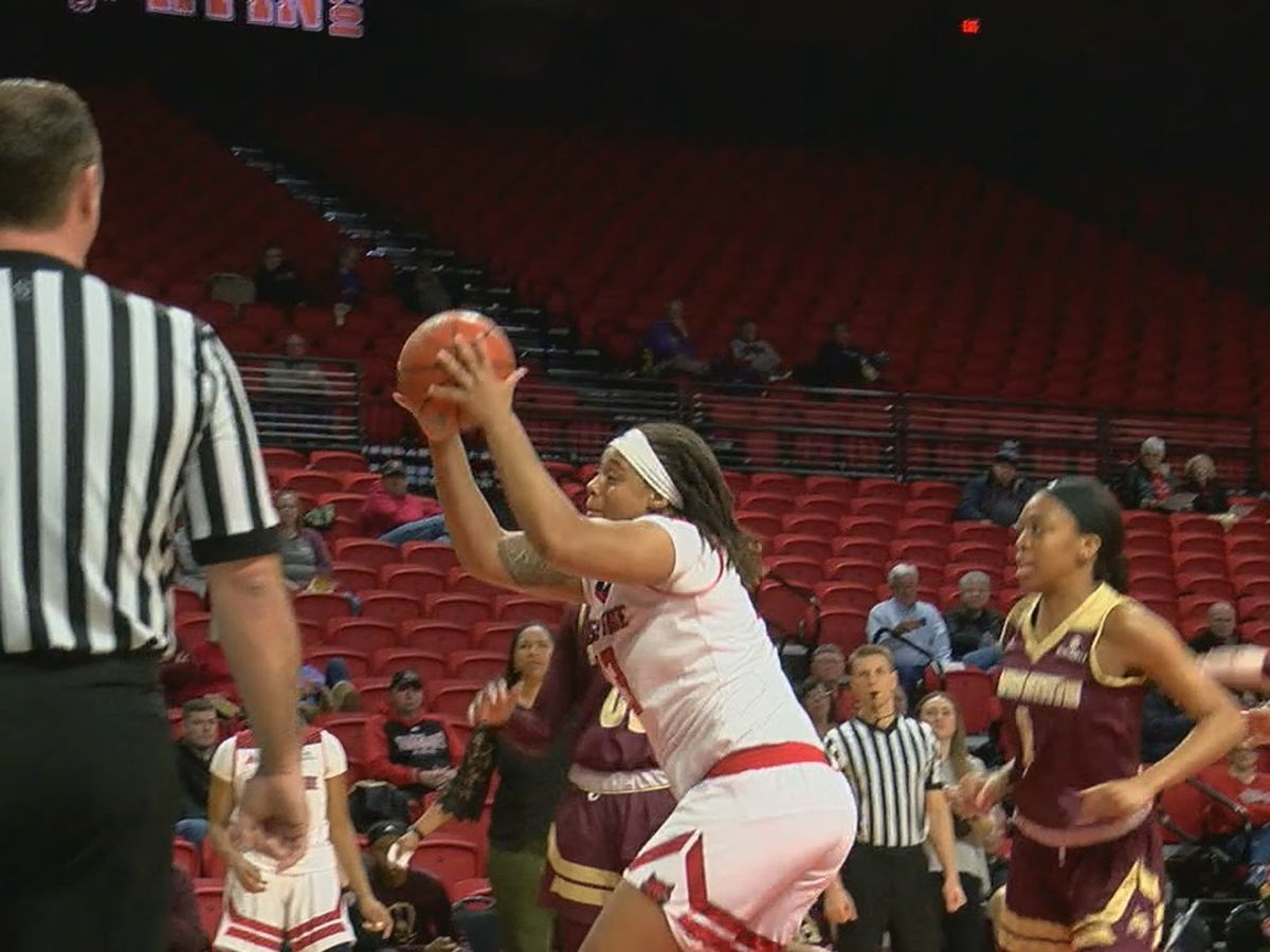 Texas State too much for A-State women