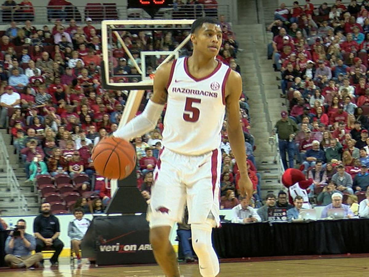 Arkansas guard Jalen Harris will graduate transfer
