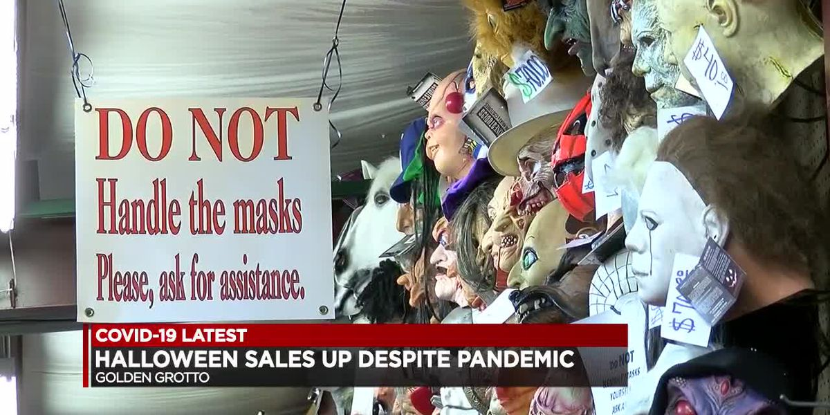 Halloween sales still great at Golden Grotto during pandemic