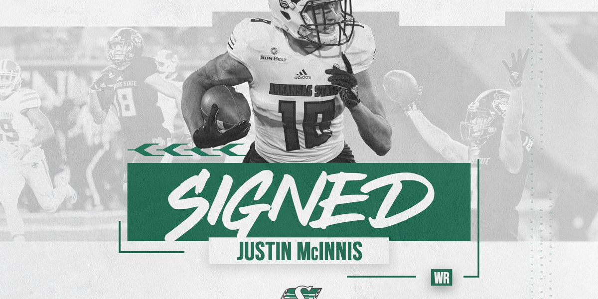 A-State alum Justin McInnis signs with Saskatchewan Roughriders