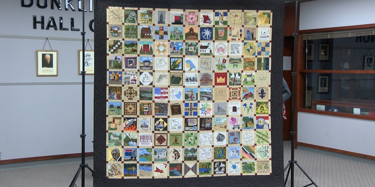 Missouri Bicentennial Quilt on display at Dunklin Co. Library