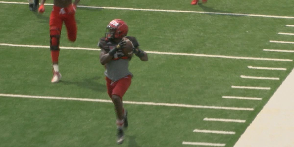 A-State football holds second fall team scrimmage