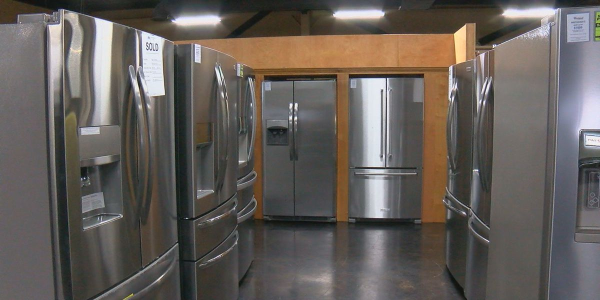 Appliance stores seeing shortage in products