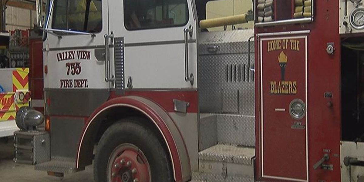 Valley View Fire Department hopes to raise $55,000 for new truck