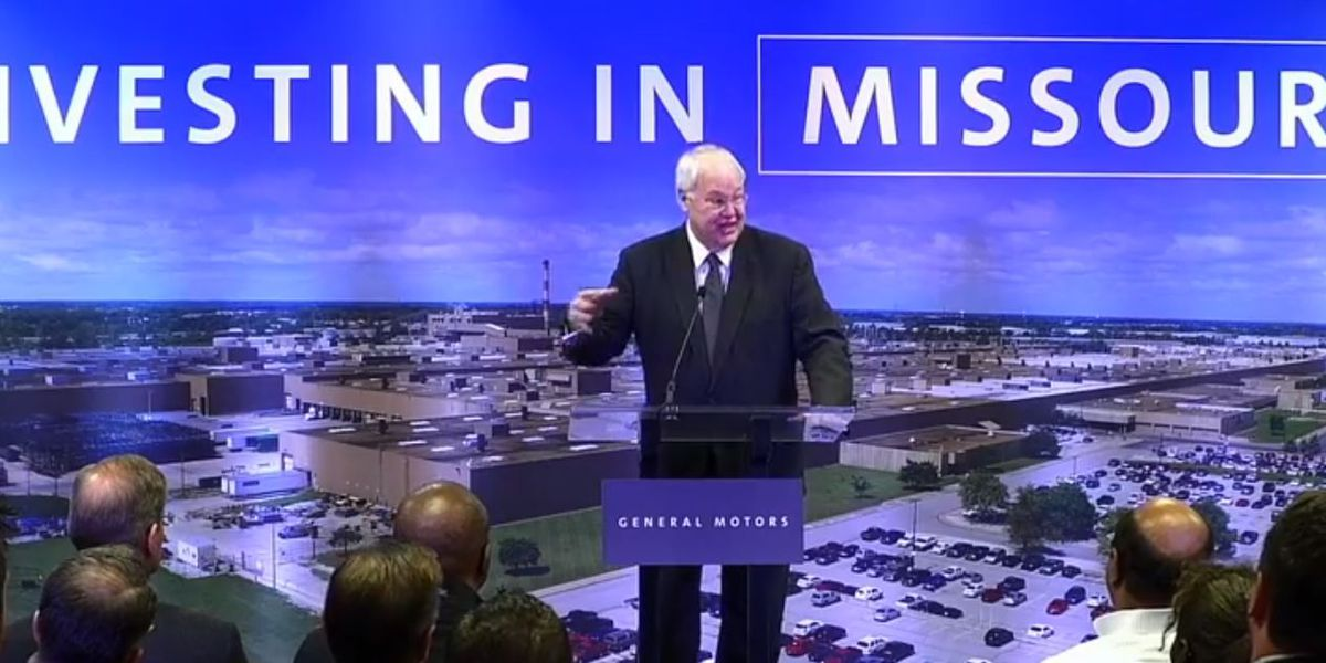 GM makes $1.5B investment allowing retention of 4,000 jobs in Mo.