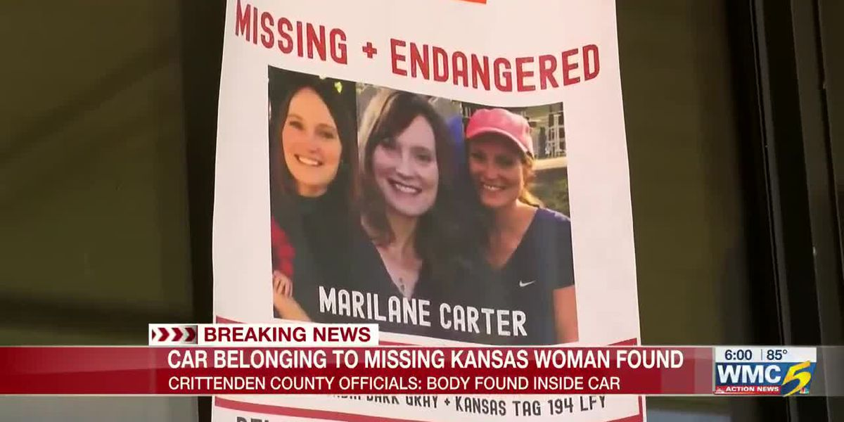 Missing Kansas woman's vehicle found in Crittenden County with body inside
