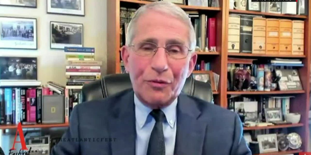 Fauci issues warning about coronavirus as flu season approaches