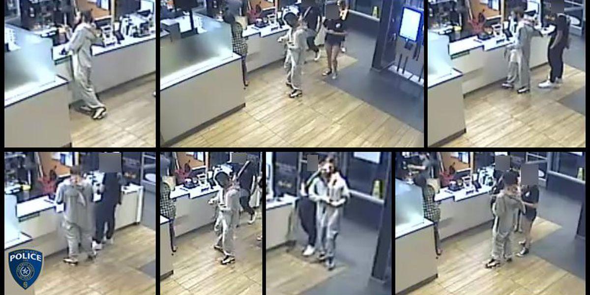 Man in shark onesie violently shoves McDonald's manager, police say