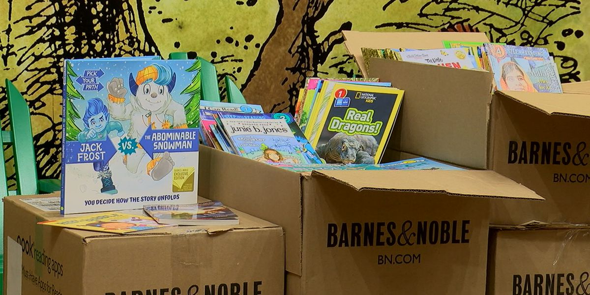 Community donates thousands of books for local children