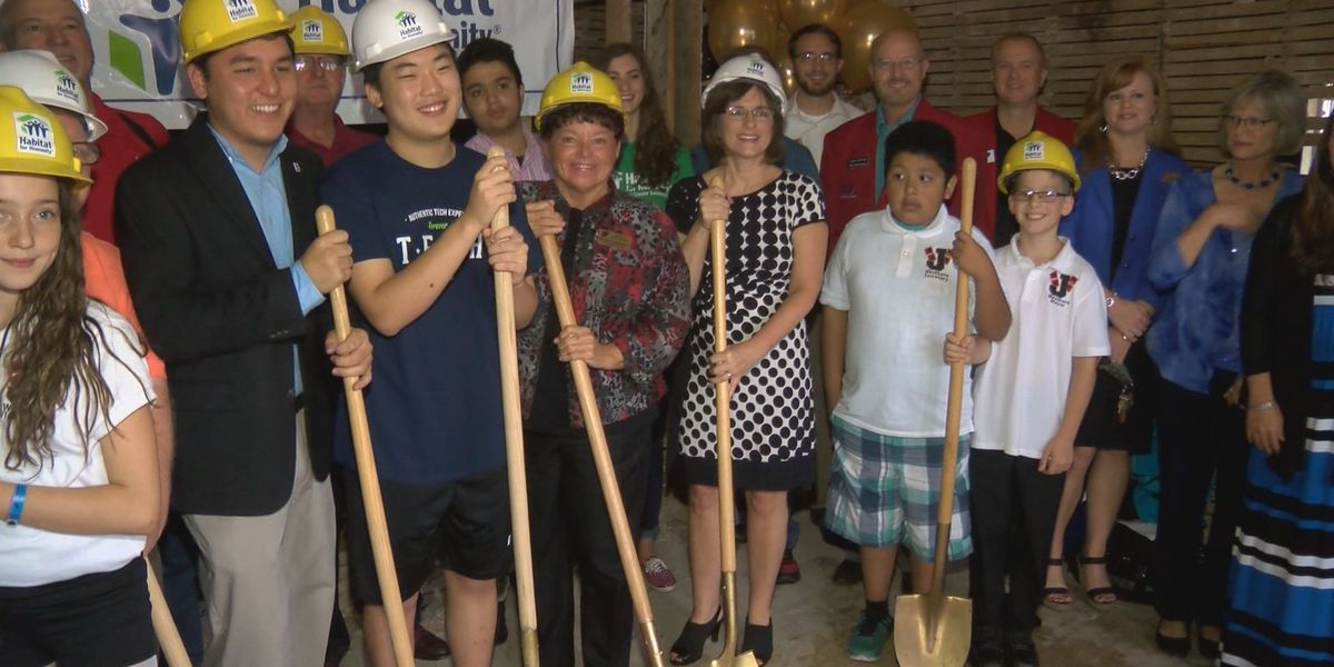 Groundbreaking held for Habitat for Humanity project