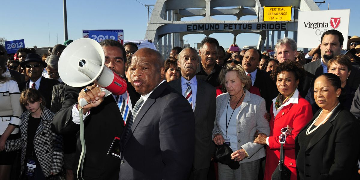 Bloody Sunday memorial honors late civil rights giants