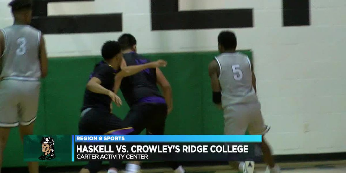 Crowley's Ridge men fall to Haskell Indians Nation University 85-80