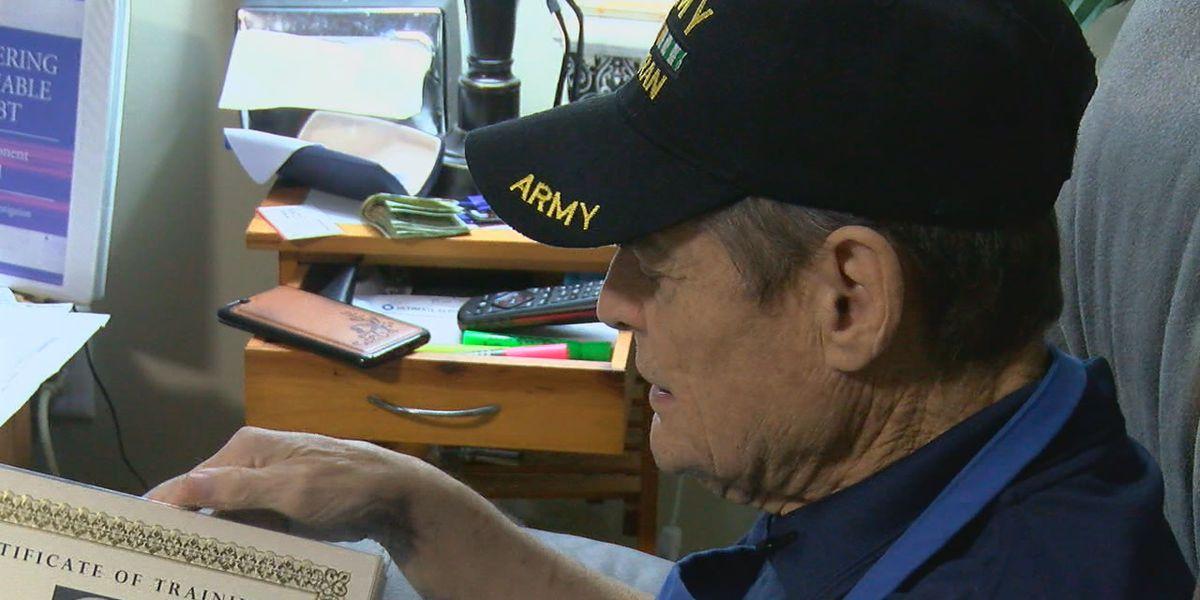 Veteran battling kidney failure still finds strength to help others