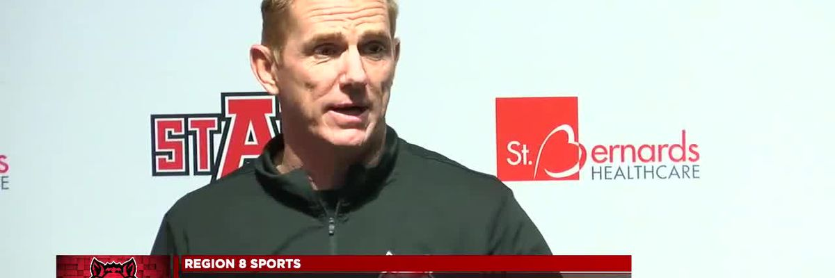 Anderson likes health of Red Wolves football heading to Sun Belt opener