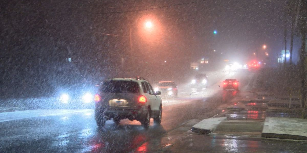 Check road conditions before heading out
