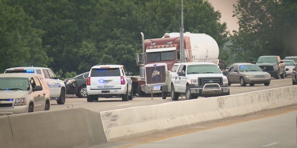 Truck driver tells story of I-40 police chase