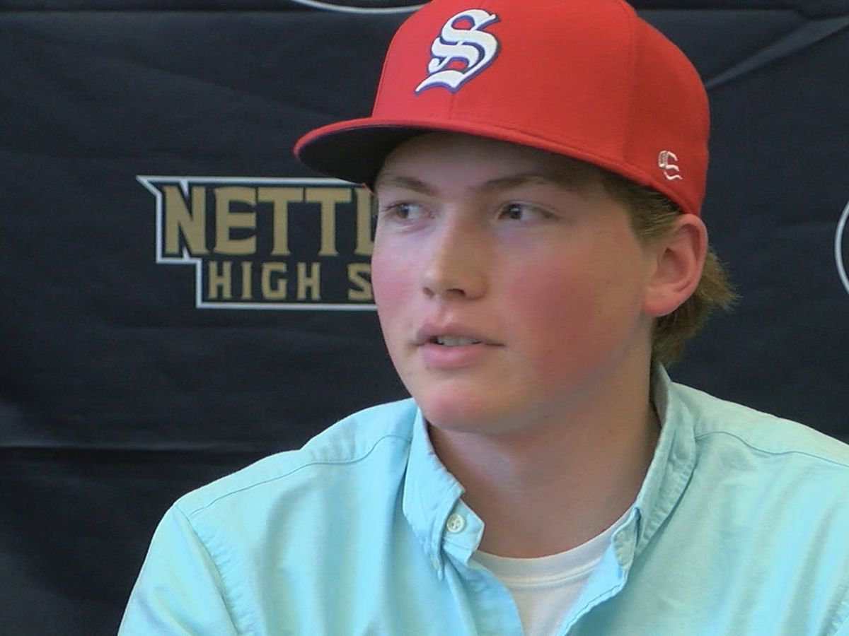 Nettleton's Hall signs with Southwest Tennessee Community College baseball