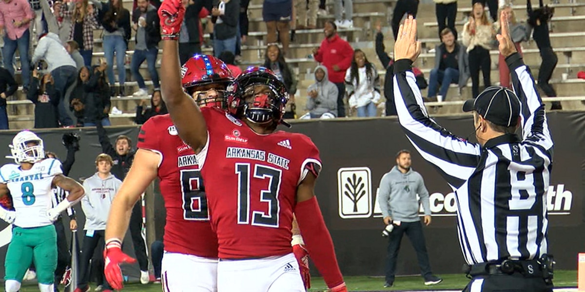 Arkansas State WRs Kirk Merritt & Omar Bayless accept invites to NFLPA Collegiate Bowl