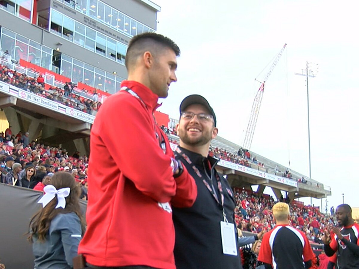 Ryan Aplin returned to The Vault to watch A-State/ULM