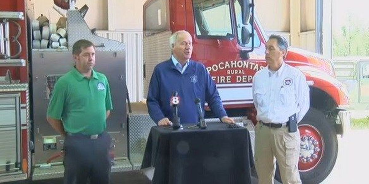 Governor reacts to flooding in NE Arkansas