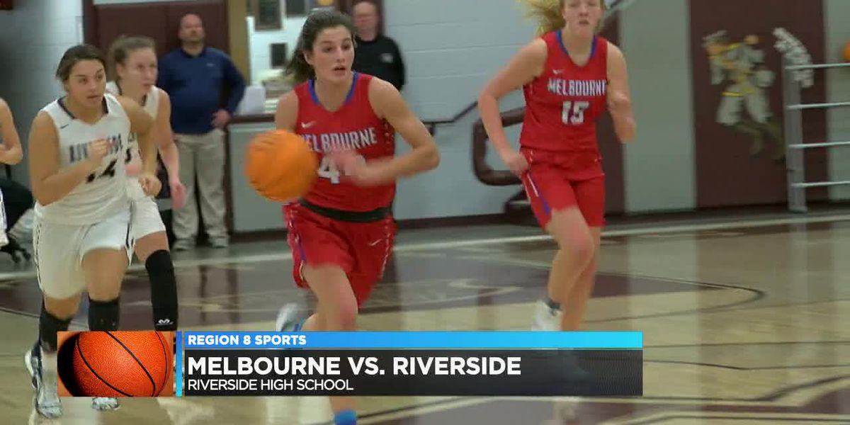 Melbourne girls defeat Riverside 47-45