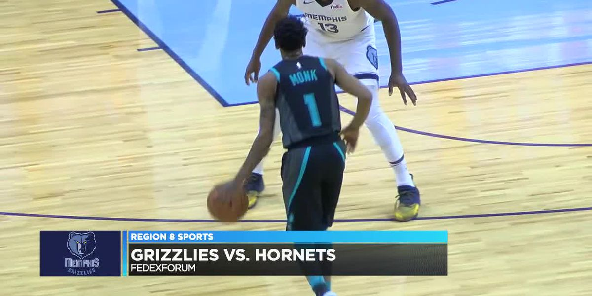 Malik Monk has 9 pts Wednesday as Hornets beat Grizzlies