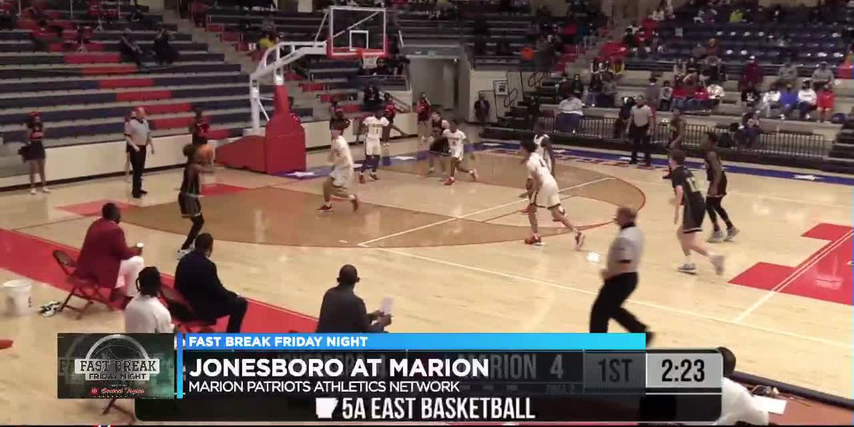 Fast Break Friday Night: Jonesboro sweeps Marion in 5A East basketball doubleheader