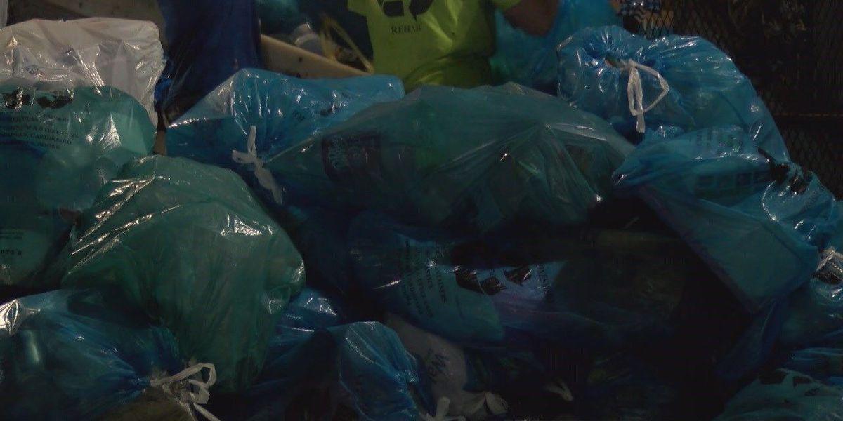 Officials discuss recycling program