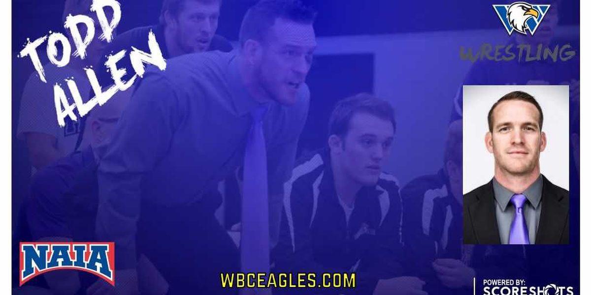 Allen Named New Eagles Wrestling Coach