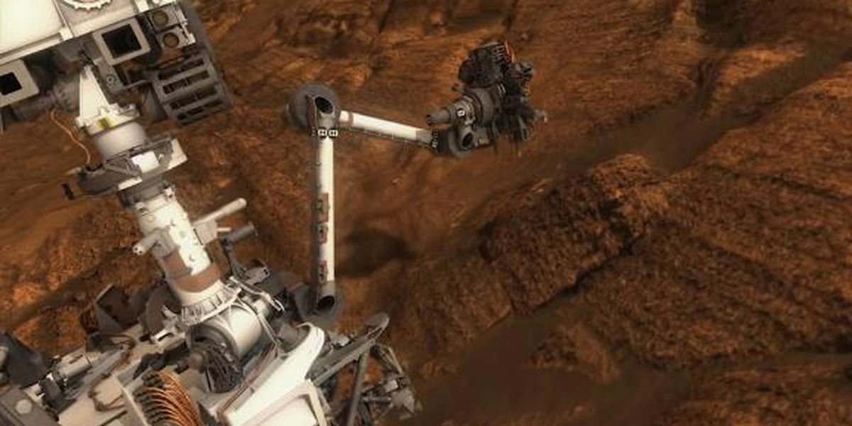 Possible signs of life: Mars rover finds organic matter