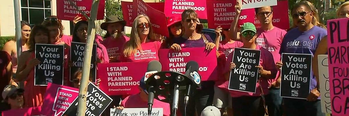 Planned Parenthood is spending over $1 million on ads targeting GOP senators