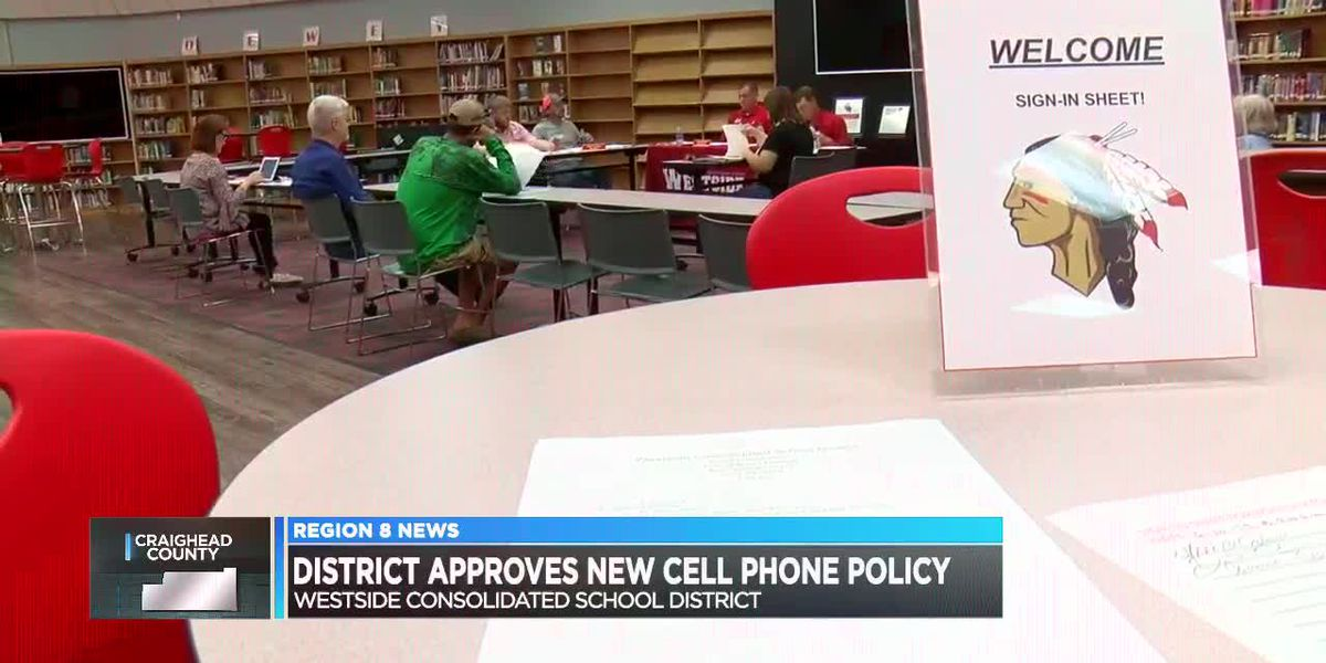 District approves news cell phone policy